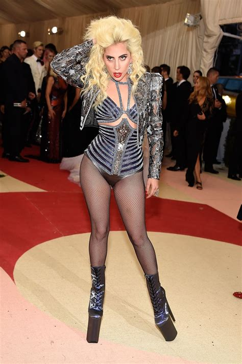 arriving in style lady gaga chose a vintage cadillac to take her to lady gaga dressed as her old self at the met gala