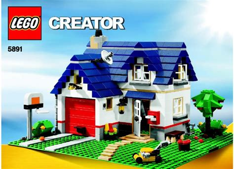 lego apple tree house 5891 creator