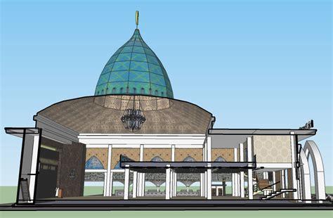 desain mihrab mushola desain masjid multidesain arsitek