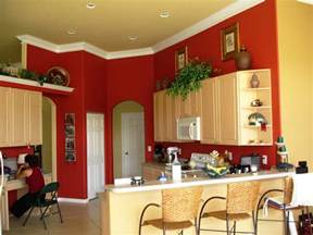Red Kitchen Paint Ideas solid brick red adds to conversation and appetite you ll see this