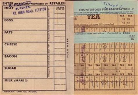printable ration book template printable ration books cake ideas and designs