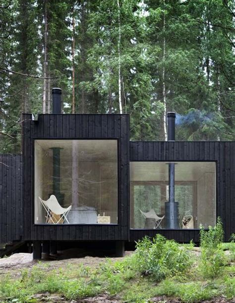 Black Cabin by 10 Of The Best Summerhouses And Garden Sheds