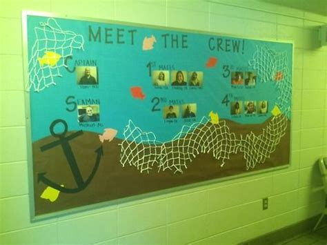 staff themes 1000 ideas about nautical bulletin boards on