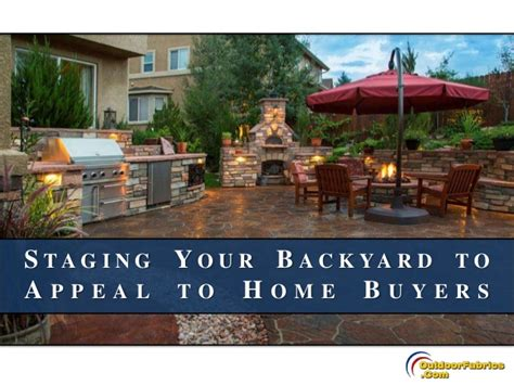 backyard buyers staging your backyard to appeal to home buyers
