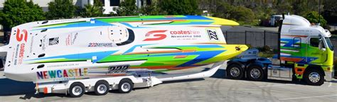 offshore boats newcastle sailing chion promotes supercars newcastle herald