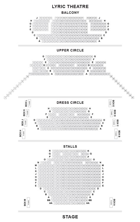 lyric theatre floor plan lyric theatre london seating tips and seat reviews