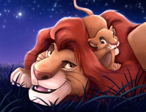 this is the lion kings simba and mufasa in real life mufasa and simba the lion king fan art 37760701 fanpop