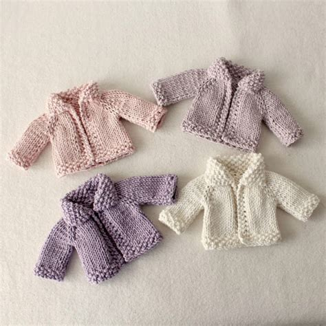 doll cardigan knitting pattern gingermelon dolls free pattern giveaway