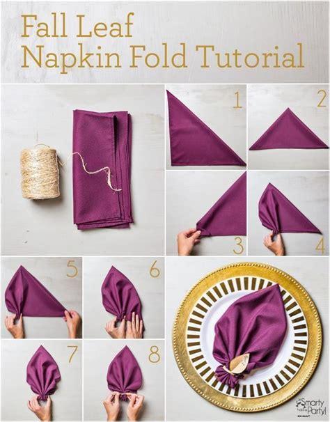 Paper Napkin Folding Techniques - 25 napkin folding techniques that will transform your
