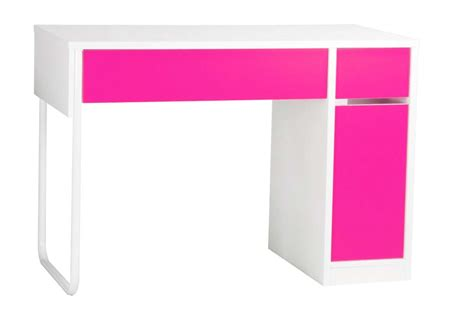 pink and white desk spectrum pink white workstation