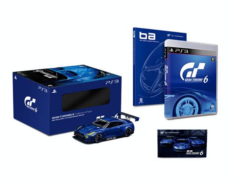 Software Ps3 Gran Turismo 6 15th Anniversary Edition Terlaris gt6 collector s asia edition