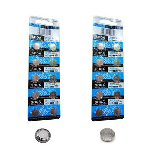 baterai kancing alkaline lr1130 ag10 1 5v 10 pcs