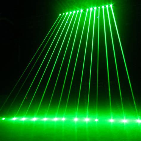 Light Laser by Single Green Color Laser Light Show Systems