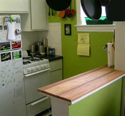 Easy Kitchen Countertops by Plywood Kitchen Countertops