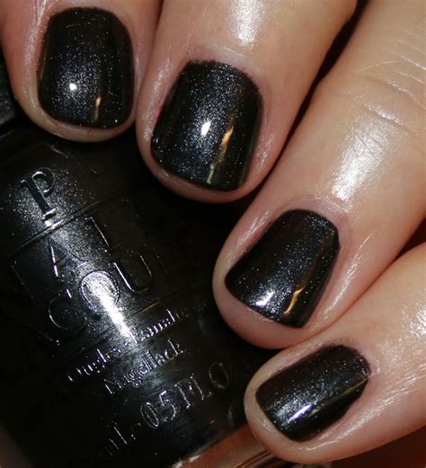 black is not a color opi breakfast at s collection vy varnish