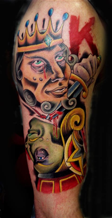 suicide kings tattoo elmo king one eyed