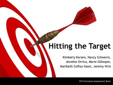 what is the target 10 2 13 hit the target