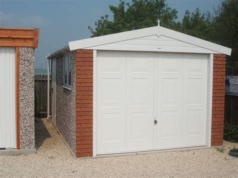 Hanson Garages Price List by Apex Royale Range Hanson Concrete Garages