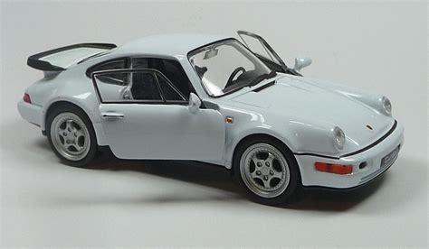 Porsche 964 Modellauto by Modellauto Porsche 964 Turbo Spritzguss 1 37 L 11 5