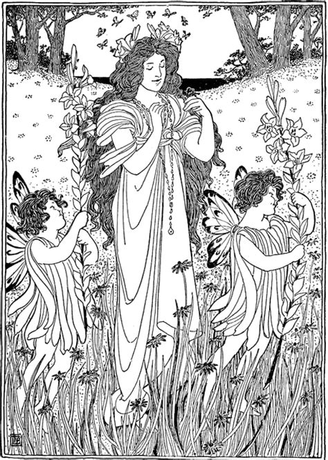 mother nature coloring page mother nature summer clipart etc