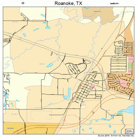roanoke texas map roanoke texas map 4862504