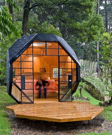 geodesic dome houses this itty bitty golf of a