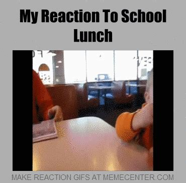 School Lunch Meme - school lunch by floating fries meme center