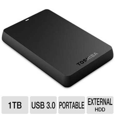 Hardisk Toshiba Canvio Alumy 3 0 Portable Drive 2tb 1 toshiba hdtb110xk3ba canvio basics usb 3 0 1tb portable drive black at tigerdirect
