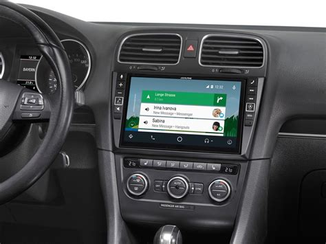 Android Auto Golf 6 by Alpine Style X902d G6 Infotainment System Golf 6 Navigation Android Auto Carplay