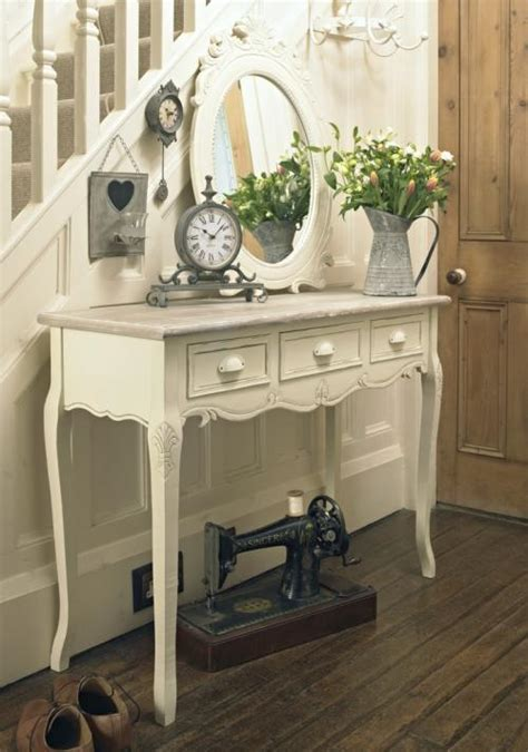 Hallway Table With Drawers Wooden Console Hallway Table With Drawers Country Ash Range Melody Maison 174