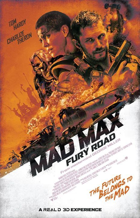 imperator books new mad max fury road poster released