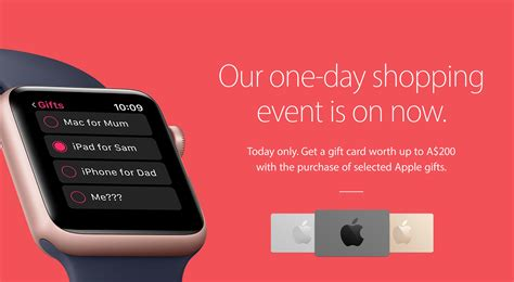Mac Gift Card Nz - apple s black friday deal goes live in australia and new zealand offers up to 200