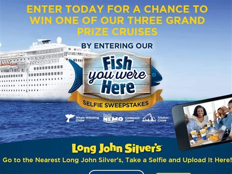 Long John Silvers Gift Card - the long john silver s fish you were here sweepstakes