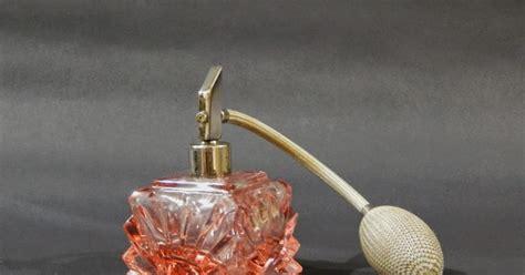Botol Minyak Wangi barang antik lukito botol minyak wangi pompa sold