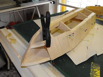 Simple Balsa Wood Model Boat Plans