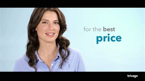 Trivago Commercial Actress | trivago girl shows you how to find your ideal hotel for