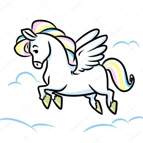 imagenes de unicornios tiernos para colorear kůň pegas l 233 t 225 n 237 stock fotografie 169 efengai 106256616