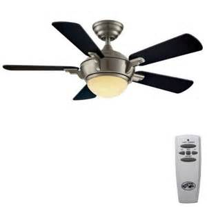 home depot fan hton bay midili 44 in brushed nickel indoor ceiling