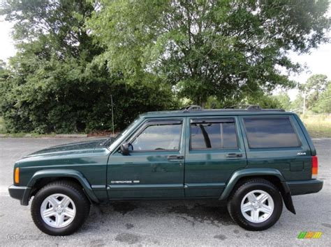 forest green pearlcoat 2001 jeep classic 4x4 exterior photo 48756582 gtcarlot