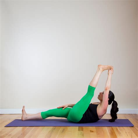 reclined yoga poses reclining big toe do this relaxing yoga sequence in bed