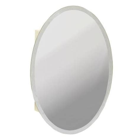 oval surface mount medicine cabinet 21 in x 31 in x 4 25 in oval surface mount medicine