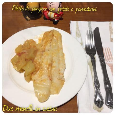 cucinare pangasio filetto di pangasio con patate e pomodorini due monelli