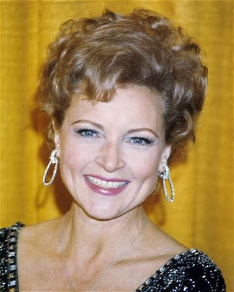 birthing hairstyles betty white short curls hairstyle zntent com celebrity