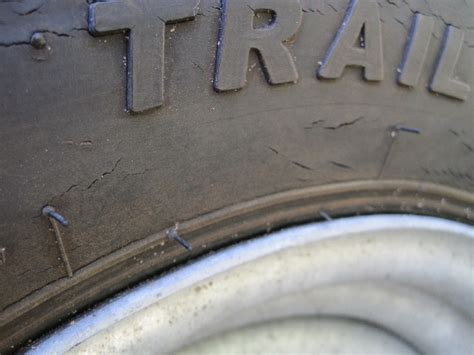 boat trailer tires cracking trailer tire cracks trail america tires the hull truth