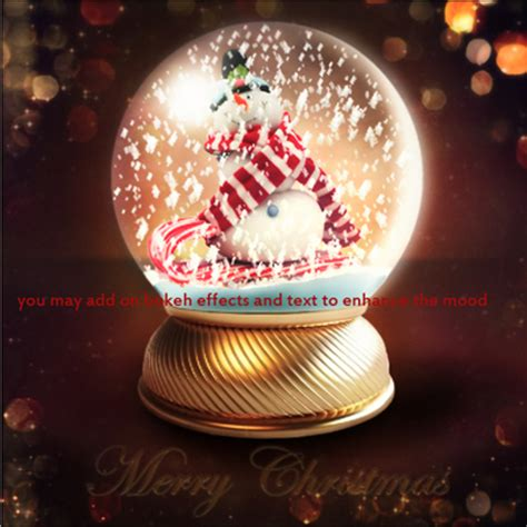 snow globe templates for photoshop 7 free psd snow globe images christmas snow globe psd