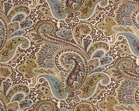 brown paisley curtains custom chocolate and aqua large paisley shower curtain