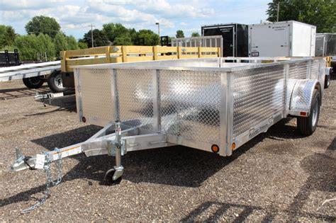 rugged cing trailers trailer inventory trailer dealer wi mirsberger sales and service trailer dealer in appleton wi