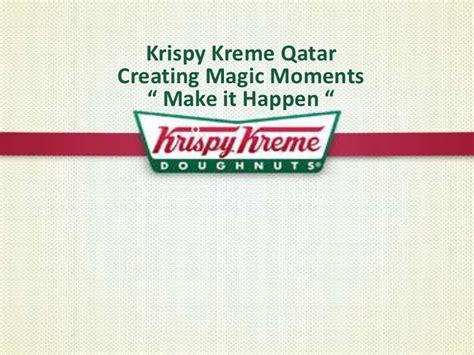 Krispy Kreme Magic Moment Presentation Krispy Kreme Powerpoint Template
