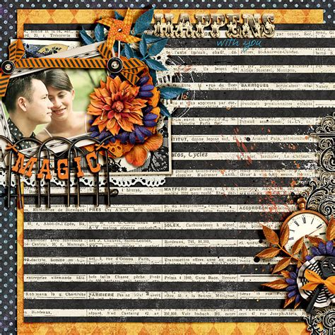 Challenge Use Themed Papers For Non Themed Layouts The Mad Cropper 3 2 2 by Sweet Shoppe Designs The Sweetest Digital Scrapbooking