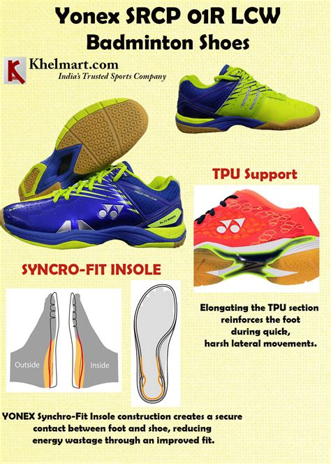 Sepatu Badminton Yonex Srcp 01r Lcw Lime Green Original yonex badminton shoes launched in september 2017 for advanced badminton players